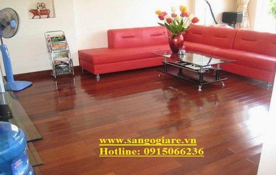 sàn gỗ giáng hương, ván sàn giáng hương, gỗ sàn giáng hương