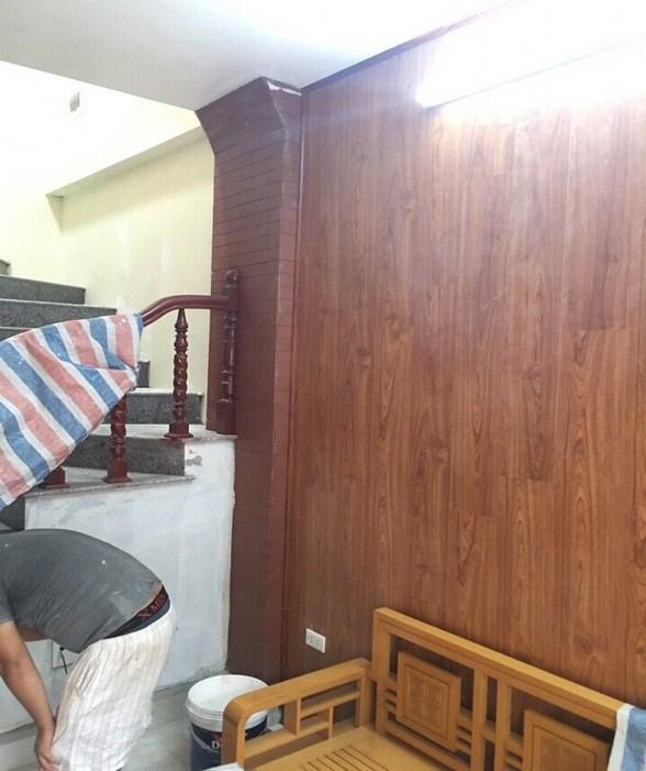 ốp tường gỗ công nghiệp tại việt trì