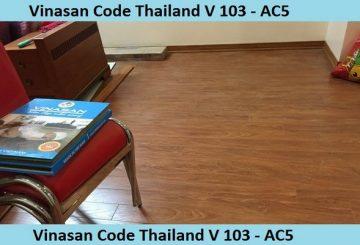 Thông tin cơ bản về sàn gỗ V103- AC5