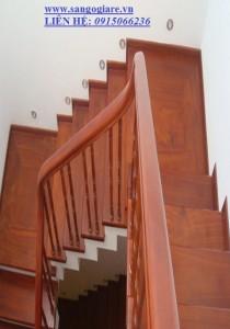 cầu thang gỗ TN