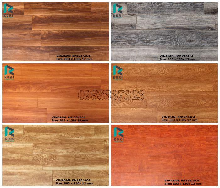 Sàn gỗ Thái Lan 12mm