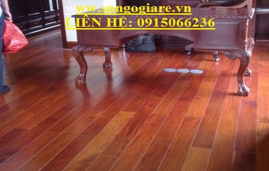 Sàn gỗ căm xe chất lượng