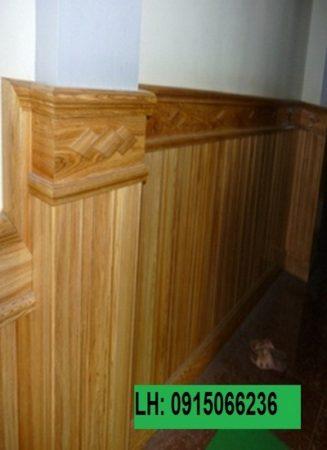 Ốp tường gỗ tự nhiên