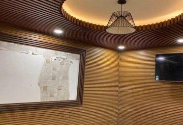Gỗ ốp tường trang trí, ốp gỗ công nghiệp phòng ngủ, khách giá rẻ