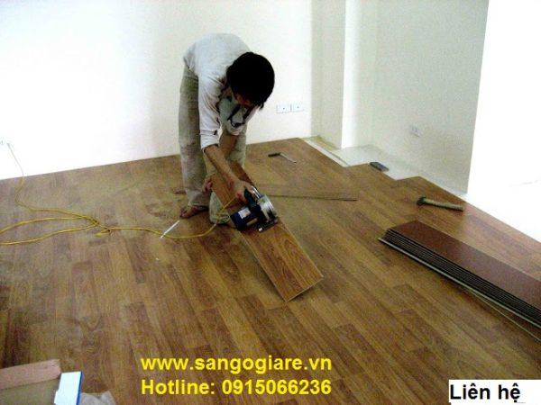 thi công sàn gỗ tại hà nội