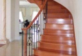 Cầu thang gỗ đẹp;