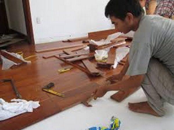 Thi công sàn gỗ, sàn gỗ