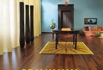 Sàn gỗ màu đen