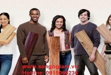 Chọn màu sàn gỗ công nghiệp