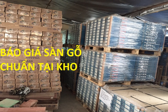 bán buôn, bán lẻ sàn gỗ tại kho