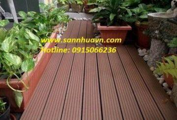 Sàn gỗ ngoài trời tại Quảng Ninh