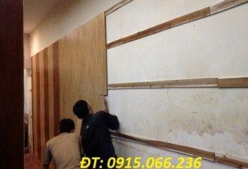 Ốp tường gỗ tại hà nội – Hướng dẫn thi công ốp tường nhựa chống ẩm