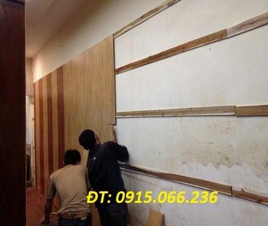 op tuong, go op tuong,Ốp tường gỗ tại hà nội