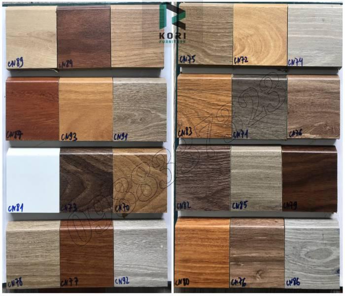 Giá phào chân tường gỗ cao 9cm