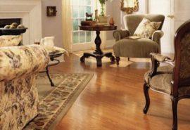 Sàn gỗ công nghiệp cho phòng khách;