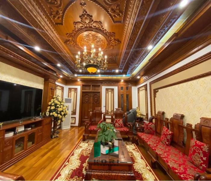 Thi công phào chỉ Pu tại Hà Nội