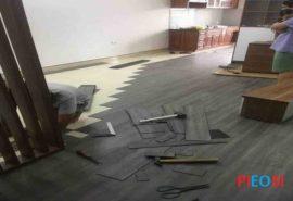Tư vấn sàn nhựa PIEOSI tại Hà Nội-Sàn nhựa hèm khóa;