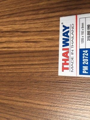 Dịch vụ thi công sàn gỗ Thaiway PM- 20724 giá rẻ
