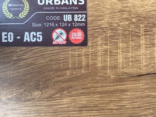 báo giá sàn gỗ UB822