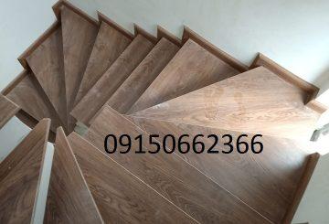 Cách thi công cầu thang gỗ công nghiệp – sangogiare.vn