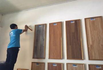 Sàn công nghiệp Thái Lan, Đức, Malaysia 12mm – Thi công sàn gỗ