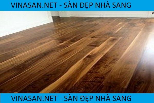 sàn gỗ màu óc chó