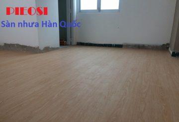 Sàn nhựa hèm khóa [ Báo giá ] ván nhựa giả gỗ spc Hàn Quốc cao cấp