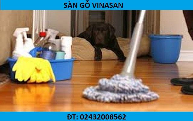 cách vệ sinh sàn gỗ, hướng dẫn vệ sinh sàn công nghiệp, bảo quản sàn gỗ,
