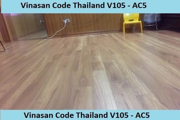 thông tin sàn gỗ Tháo Lan V105