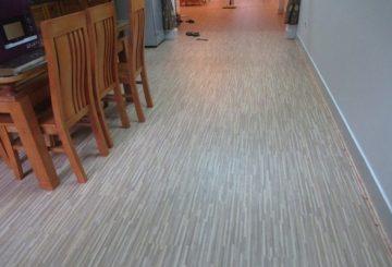 Sàn nhựa Pieosi- Sàn nhựa vân giả gỗ hèm khóa cao cấp Hàn Quốc