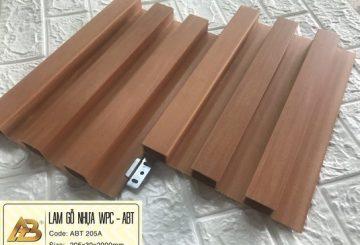 TẤM ỐP NHỰA pvc vân gỗ – Báo giá thi công ốp tường giả gỗ
