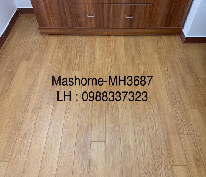 mẫu sàn gỗ mashome MH3687, báo giá thi công sàn gỗ công nghiệp,