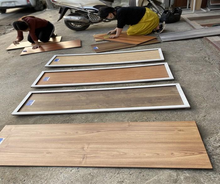 mẫu sàn gỗ công nghiệp da dạng