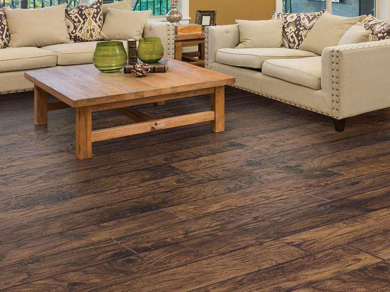 sàn gỗ cho phòng khách hợp nội thất,