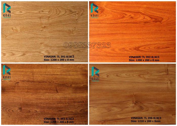 Sàn gỗ Thái Lan 8mm giá rẻ