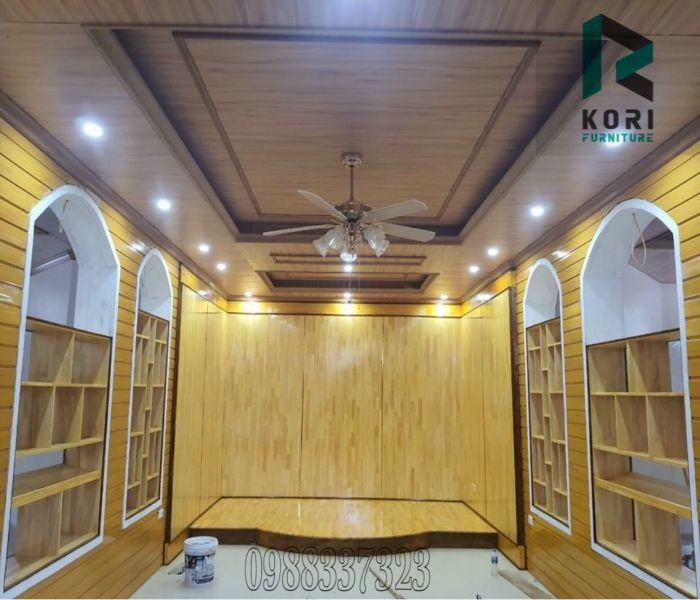 Ốp tường gỗ trang trí nội thất