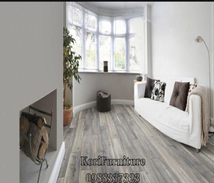 Sàn gỗ công nghiệp màu ghi