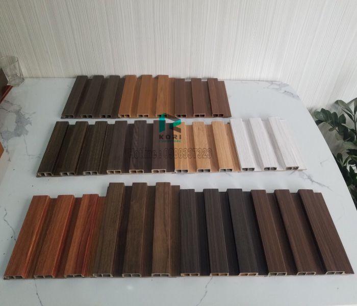Lam sóng gỗ nhựa 3 nan