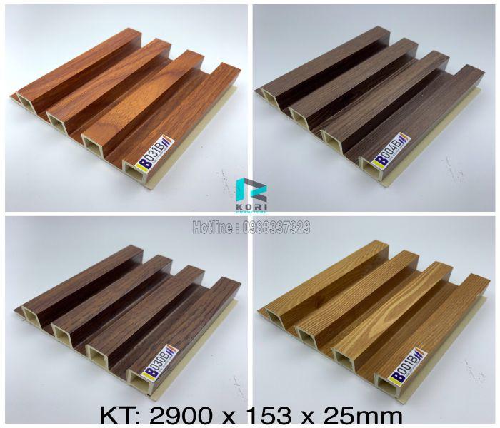 Lam sóng gỗ nhựa 4 sóng