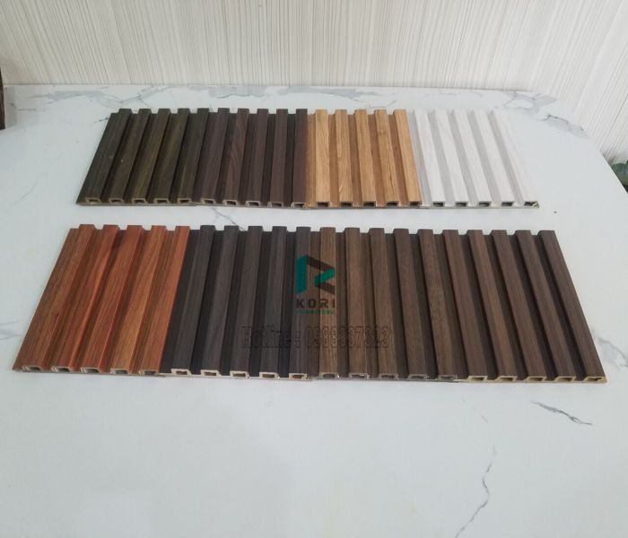 Lam sóng gỗ nhựa 5 nan sóng