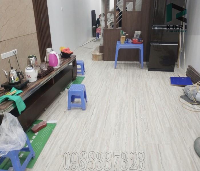 Sàn nhựa vân gỗ hèm khóa