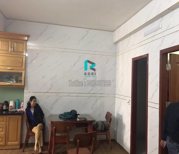 Thi công tấm ốp tường pvc tại Hà Nội