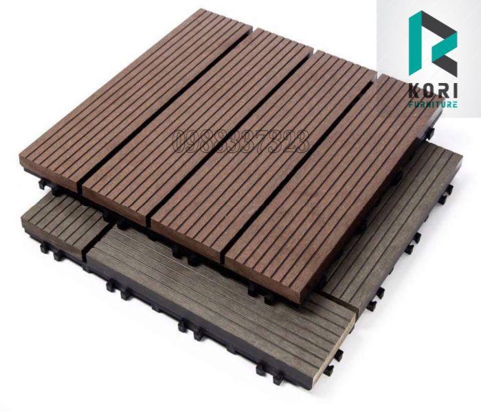 Vỉ nhựa gỗ ngoài trời