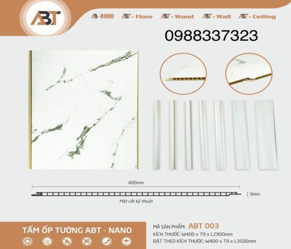 Tấm nhựa ốp tường ABT 003